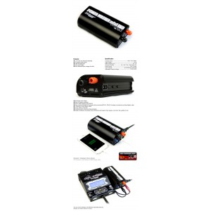 Power Master Mini Evo・10A Black with USB