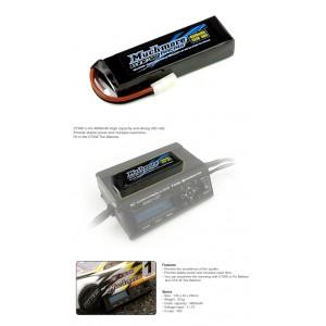 CTXW Li-Po Battery 4600mAh/11.1V 40C for CTXW Tire Warmer