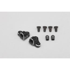 Aluminum Separate Suspension Mount (Black / 43.5mm)