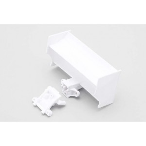 White Rear Wing/R Wing Base for YRF 001
