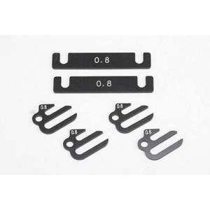 Aluminum Suspention Mount Spacer 0.8mm