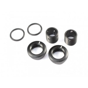 Radtec - Aluminium 6mm Body Height Fine Adjuster Set, 2pcs, Black