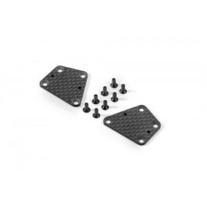 XRAY Graphite ARS Rear Lower Arm Plate 1,6mm (L+R)