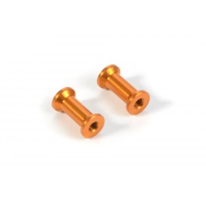 XRAY Alu Strebe hinten 13mm Orange