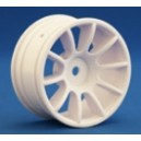 RIDE M47 10 Spoke Wheel, White