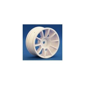RIDE M47 10 Spoke Wheel, White