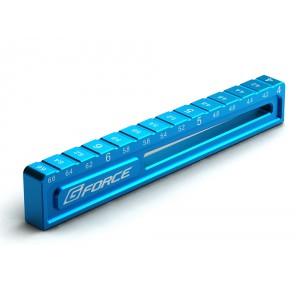 G-Force Droop Gauge 4.0 to 6.6mm(Blue)