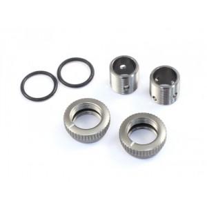 Radtec - Aluminium 6mm Body Height Fine Adjuster Set, 2pcs, Titanium