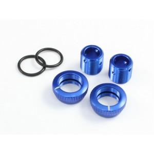 Radtec - Aluminium 5mm Body Height Fine Adjuster Set, 2pcs, Blue