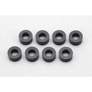 Yokomo 3 x 6 x 3.0 mm Aluminum Shim Black 8pcs