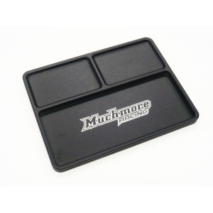 Muchmore Luxury Aluminium Part Tray 2, Black