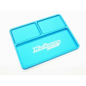 Muchmore Luxury Aluminium Part Tray 2, Blue