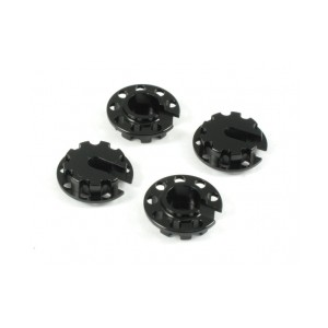 Roche Alum Spring Holder for Tamiya Damper, Black