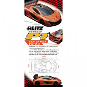 BLITZ P1 1/12th Bodyshell