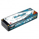 Muchmore IMPACT 6200mAh/7.4V 110C Max-Punch FD2 Li-Po Battery Flat Hard Case