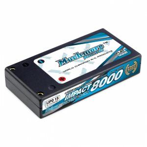 Muchmore IMPACT 8000mAh/3.7V 110C FD2 Li-Po Battery Hard Case (1/12 Racing)