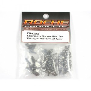 Roche Titanium Screw Set for Tamiya 417
