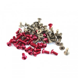 Roche - Rapide P12 Titanium & Alloy Hex Screw Set
