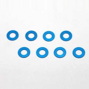 3 x 6 x 0,5 mm Aluminum Shim