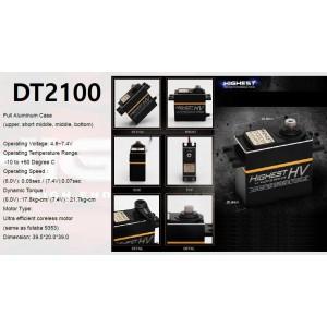 Highest DT2100 High Volt Digital servo (Black wire)