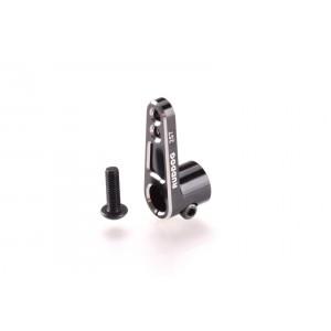RUDDOG Aluminium Offset Servo Horn 25T Black