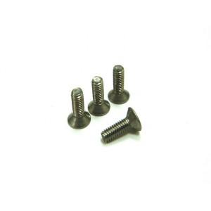 Hiro Seiko Titanium Hex Socket Flat Head Screw M2.6x10 ( 4 pcs)