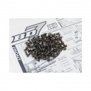 Hiro Seiko BD7 16 Titanium Hex Socket Screw Set
