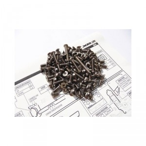 Hiro Seiko XB2 Titanium Hex Socket Screw Set
