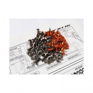 Hiro Seiko X1'16 Titanium & Alloy Hex Socket Screw Set