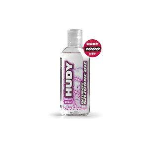 HUDY 106411 - HUDY ULTIMATE Silicon Öl 1000 cSt - 100ML