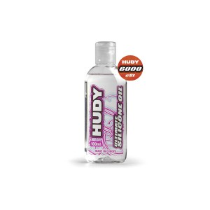 HUDY 106461 - HUDY ULTIMATE Silicon Öl 6000 cSt - 100ML