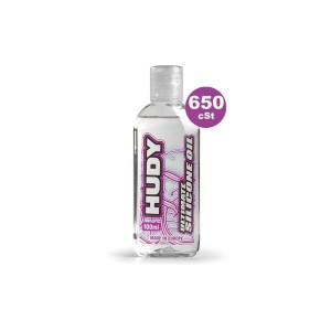 HUDY 106366 - HUDY ULTIMATE Silicon Öl 650 cSt - 100ML