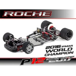 Roche Rapide P12-2017 1/12 Scale Pan Car Kit