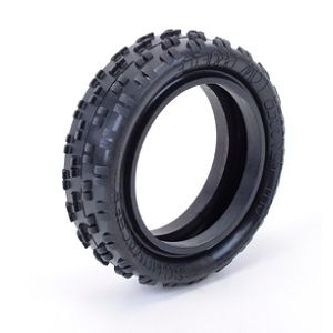 Schumacher Cut Stagger 2WD Front Tires Low Profile Hard - Blue